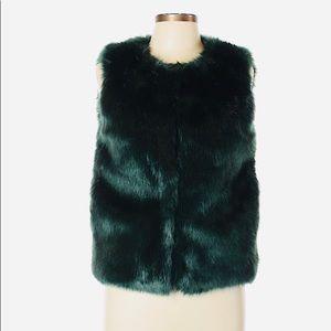 TopShop Faux Fur Vest size 8